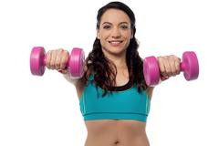 This is my daily work-out ! - stock photo