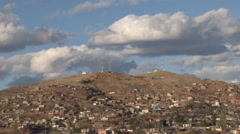 Nogales Clouds Timelapse Stock Footage