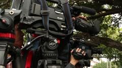 Film Crew, Journalists, Scenes From A Media Event,Taiwan-Dan Stock Footage