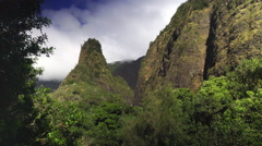 Iao needle Stock Footage