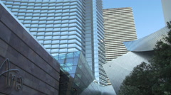 Aria Hotel in Las Vegas, Nevada Stock Footage