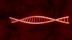 DNA animation - stock footage