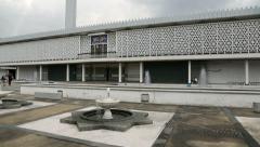 National Mosque Negara in Kuala Lumpur Stock Footage