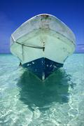 relax and boat - stock photo