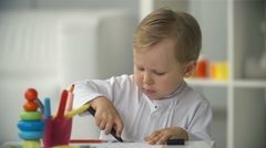 Young Artist Stock Footage
