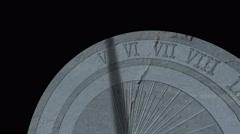 Timalapse Sundial Stock Footage