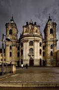 church germany weingarten - stock photo