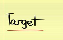 Target Concept Stock Illustration