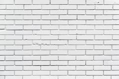 Stock Photo of White Brickwork Wall Pattern Texture
