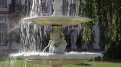 Fountains in the park 4 Stock Footage