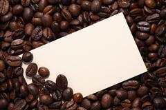 Invitation For Coffee Stock Photos