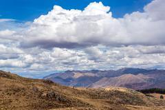 Sacred Valley near Cuzco, Peru Stock Photos