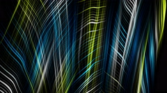 Fantastic eco video animation with wave object in motion, 4096x2304 loop 4K Stock Footage