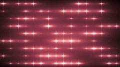 Floodlights disco background. Red creative bright flood lights flashing.  Stock Footage