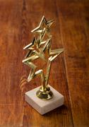 Star award with space for text on white background Kuvituskuvat