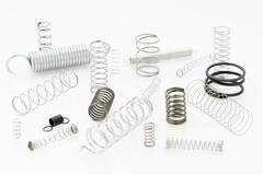 group of springs - stock photo