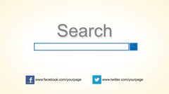 Searching Logo Reveal Search Text Type Kuvapankki erikoistehosteet