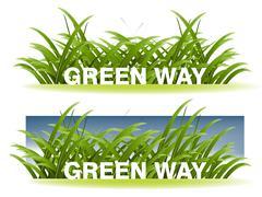 Ecology concept Stock Illustration