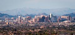 Phoenix Arizona Panorama Stock Photos