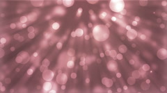 Moving gloss particles on burgundy background loop. Stock Footage