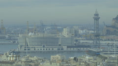 Barcelona World Trade Center Stock Footage
