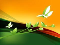 Environmental Concept Stock Illustration
