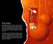 Stock Illustration of Sales and discount concept