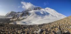 Tajikistan panorama - stock photo