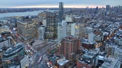 SoHo NYC Timelapse 4K SLOW MO Stock Footage