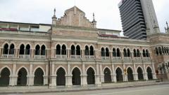 Sultan Abdul Samad Building in Kuala Lumpur Stock Footage