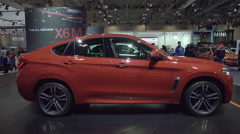 2015 BMW X6M Stock Footage