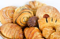 Stock Photo of Bakery foodstuffs set