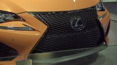2015 Lexus RC F.  Stock Footage