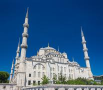 Blue Mosque - stock photo