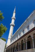 Blue Mosque side view - stock photo