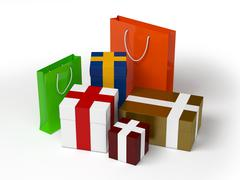 Gifts Stock Illustration