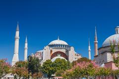 Hagia Sophia museum - stock photo