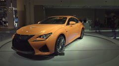 2015 Lexus RC F Stock Footage