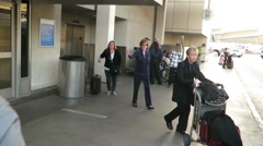 Carol Burnett at LAX Stock Footage