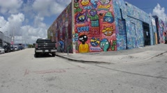 Wynwood Art walls Stock Footage