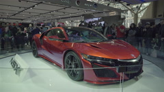 2016 Acura NSX 3 Stock Footage