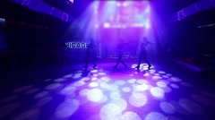 Erotic show in Donetsk 06.04.2013 editorial - stock footage