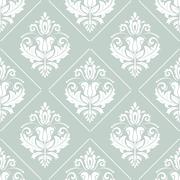 Stock Illustration of Damask Seamless Vector Pattern