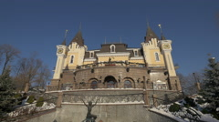 Stock Video Footage of Kiev Academic Puppet Theatre, Ukraine in 4K