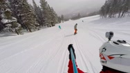 Stock Video Footage of Enjoying a stay in Breckenridge Ski Resort