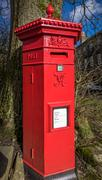 Victorian Pillar Box - stock photo