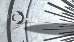 Sundial Timelapse Close Shot - stock footage