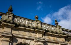 Victorian Thermal Baths Stock Photos