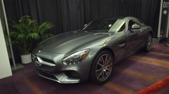 2016 Mercedes-AMG GT S Stock Footage
