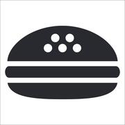 Vector illustration of isolated fast-food icon Piirros